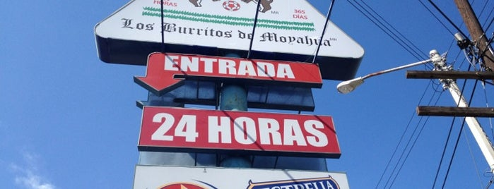 Los Burritos de Moyahua is one of 20 favorite restaurants.