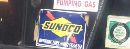 Sunoco is one of Pick Gas Stations.