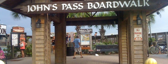 John's Pass Village and Boardwalk is one of Livin' Large Summer.