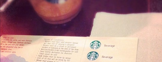 Starbucks is one of #restaurant.