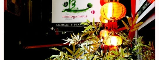 The Monogamous Chinese is one of hong kong 2014 michelin stars.