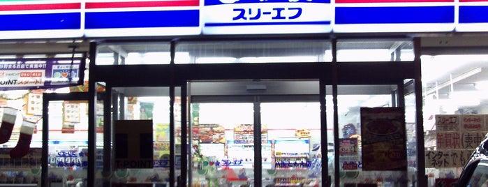 スリーエフ 八街追分台店 is one of 田舎のランドマークコンビ二@千葉・東金基点.