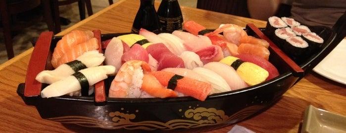 Mizu Sushi & Grill is one of Lieux sauvegardés par Matt.