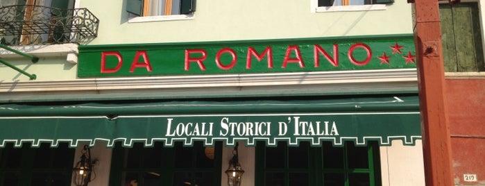 Trattoria Da Romano is one of Italy to-do.