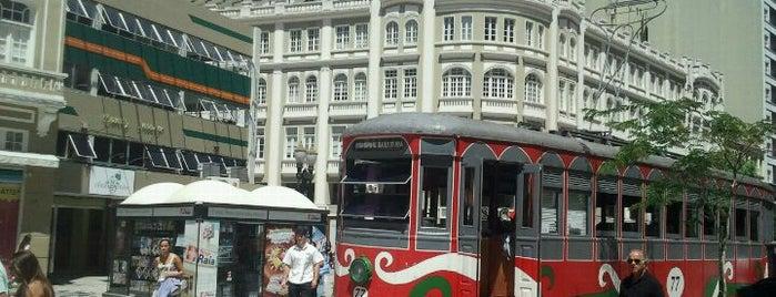 Rua das Flores is one of Curitiba.