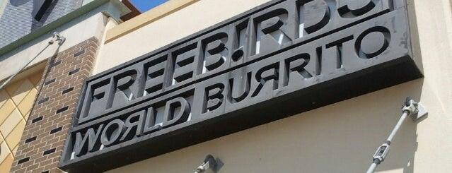 Freebirds World Burrito is one of Tempat yang Disimpan Avelino.