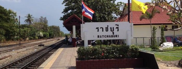 สถานีรถไฟราชบุรี (Ratchaburi) SRT4089 is one of ราชบุรี.