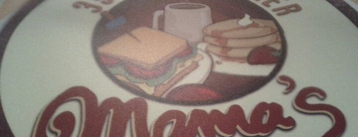 Mama's 39th Street Diner is one of Diners, Drive-Ins, & Dives.