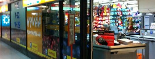 K-market Kotikontu is one of Mylppy'ın Beğendiği Mekanlar.
