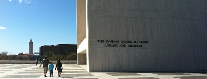 The Lyndon Baines Johnson Library and Museum is one of A Weekend Away in Austin.