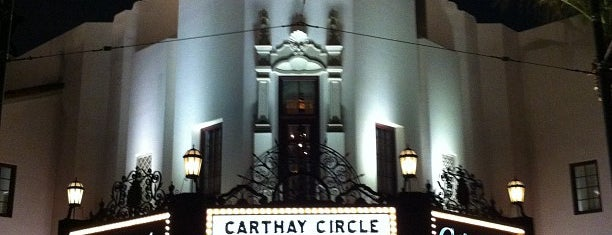 Carthay Circle Restaurant and Lounge is one of OC.