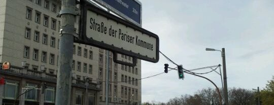 Karl-Marx-Allee is one of I Love Berlin!.