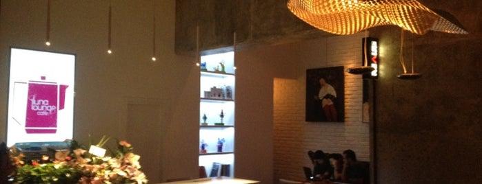 Luna Lounge Café | کافه لونا لانژ is one of Tehran.