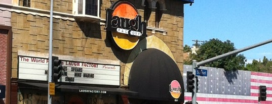 Laugh Factory is one of LA.