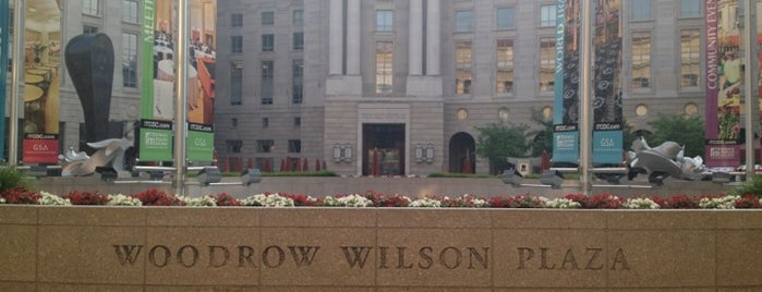 Woodrow Wilson Plaza is one of DC.