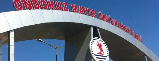 Ondokuz Mayıs Üniversitesi is one of Tempat yang Disukai Nihat.
