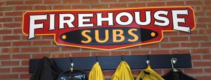 Firehouse Subs is one of Locais curtidos por Meghan.