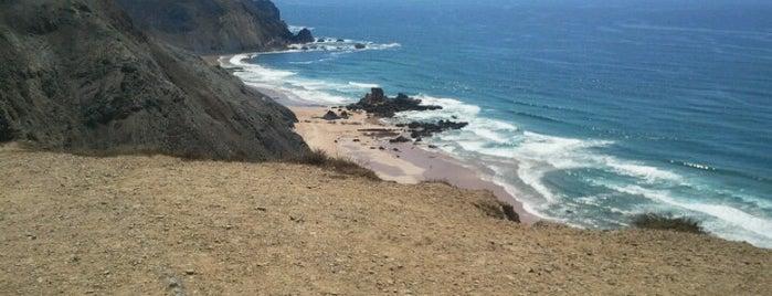 Praia de Castelejo is one of Portugal.