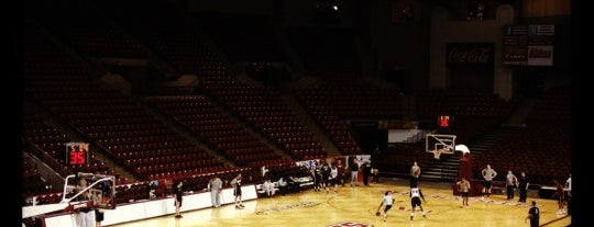 Mullins Center is one of NCAA Division I Basketball Arenas/Venues.
