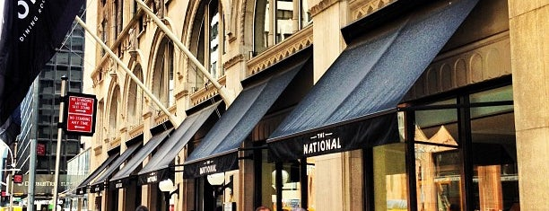 The National Bar & Dining Rooms is one of NYC restaurants.