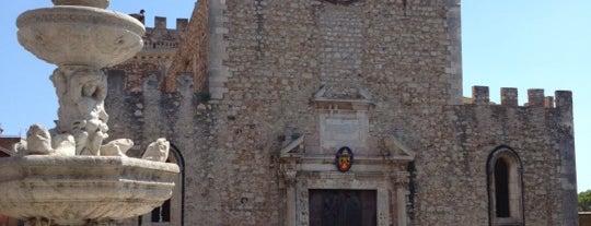 Duomo di Taormina is one of Grand Tour de Sicilia.