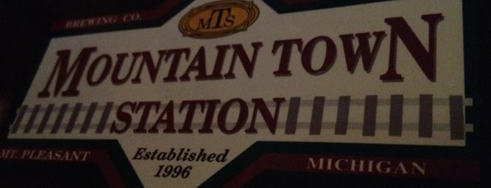 Mountain Town Station is one of Michigan Breweries.