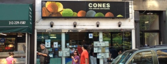 Cones is one of Bucket List Desserts.
