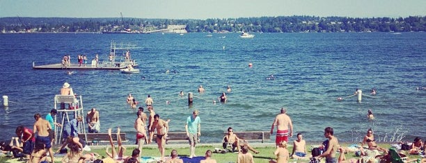 Madison Park Beach is one of Seattle.