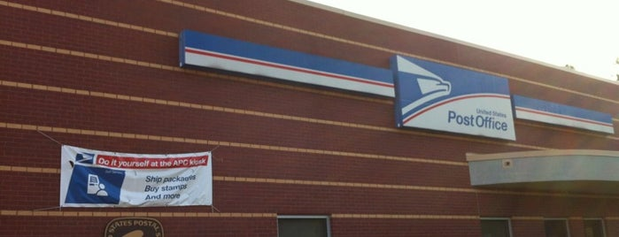 US Post Office is one of Reg places.