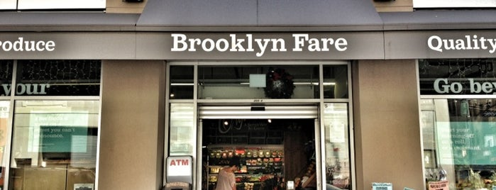 Brooklyn Fare is one of eat here!.