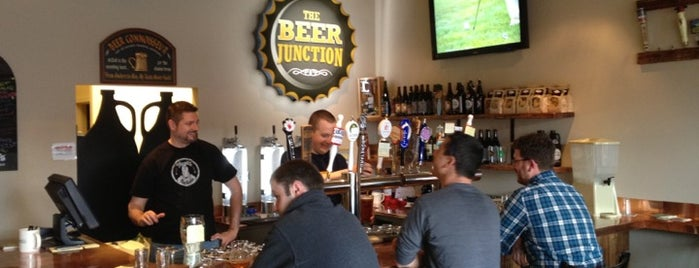 The Beer Junction is one of B's Seattle.