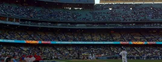 Dodger Stadium is one of MLB Baseball Stadiums.