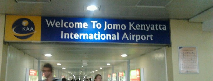 Jomo Kenyatta International Airport (NBO) is one of Airports.