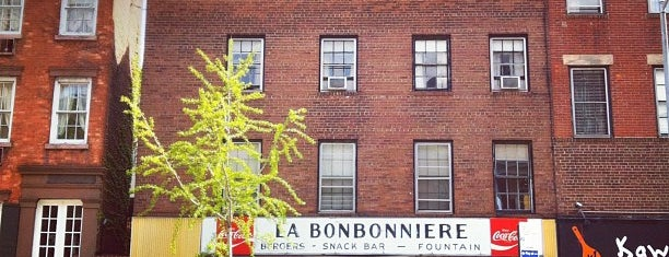 La Bonbonniere is one of Greenwich Village / West Village.