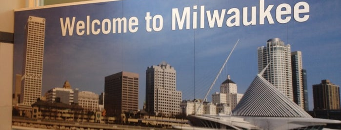 General Mitchell International Airport (MKE) is one of Discover Milwaukee.
