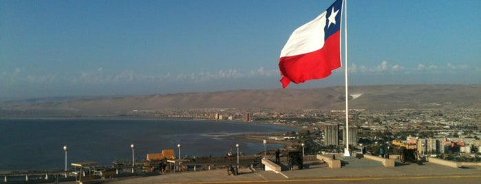Morro de Arica is one of ARICA.
