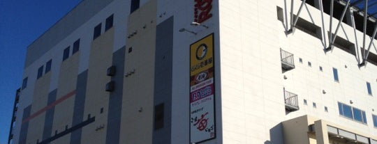 ラウンドワンスタジアム 沖縄宜野湾店 is one of สถานที่ที่ @ ถูกใจ.