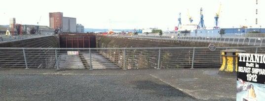 Titanic's Bow is one of Belfast.
