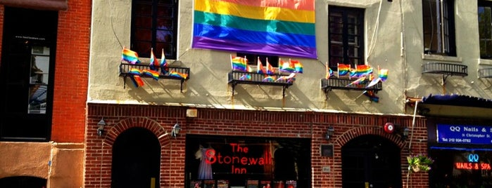Stonewall Inn is one of Notable Pride Moments Across the US.
