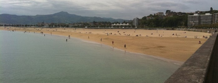 Playa de Hondarribia is one of Kaixo Euskadi!.
