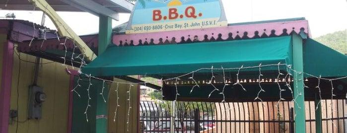 Uncle Joe's BBQ is one of St John.