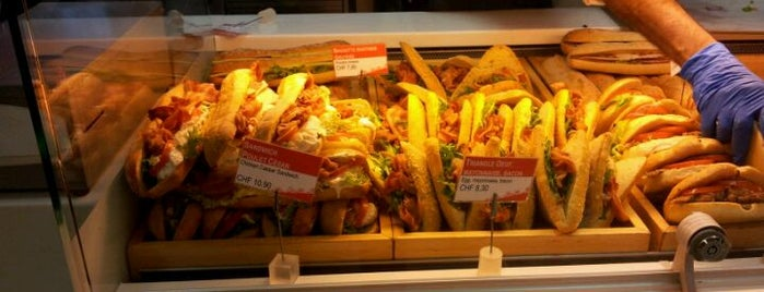 Swiss Sandwich Bar is one of Geneva (GVA) airport venues.