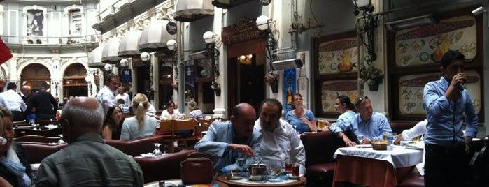 Çiçek Pasajı is one of The Best of Istanbul by a Foreign Istanbulite.