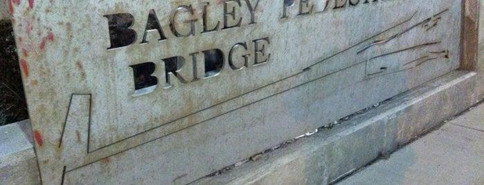 Bagley Pedestrian Bridge is one of Andrew'in Beğendiği Mekanlar.