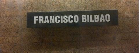 Metro Francisco Bilbao is one of Posti che sono piaciuti a Paula.