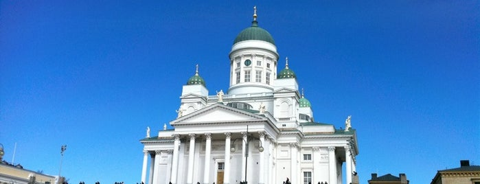 Senaatintori is one of Helsinki 2019.