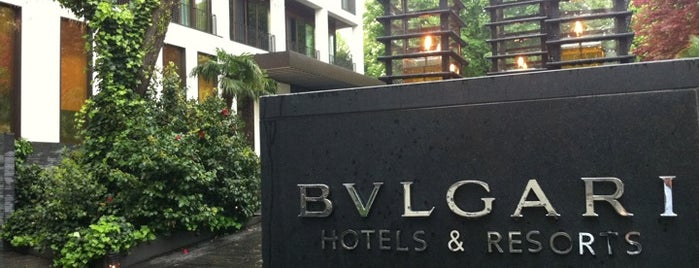 BVLGARI Hotel Milano is one of Int'l Random Places.