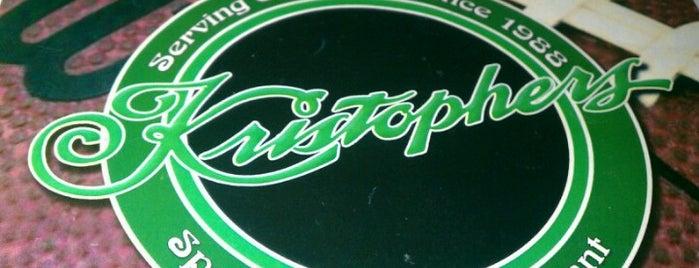 Kristophers Sports Bar is one of Lugares guardados de Alex.