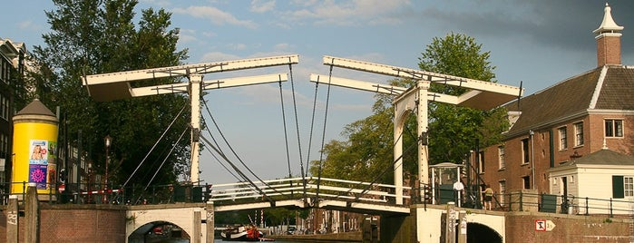 Magere Brug (Brug 242) is one of Outstanding Amsterdam for backpackers.