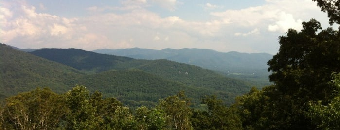 Blue Ridge Parkway is one of Trudy's list.